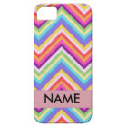 Colourful Chevron Pattern Personalized Case