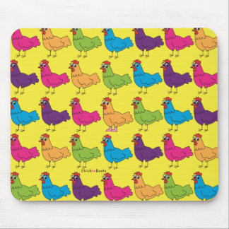 Colourful Chickens Mousepad