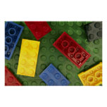 Colourful Children's toys Poster