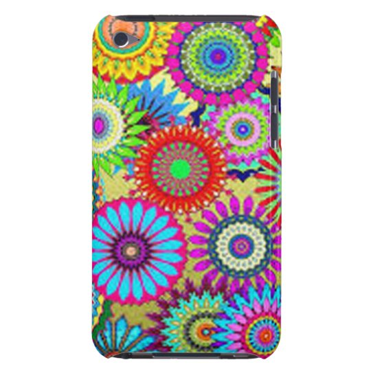 Colourful Circle Flowers Case-Mate iPod Touch Case