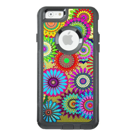 Colourful Circle Flowers OtterBox iPhone 6/6s Case