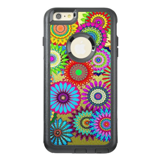 Colourful Circle Flowers OtterBox iPhone 6/6s Plus Case