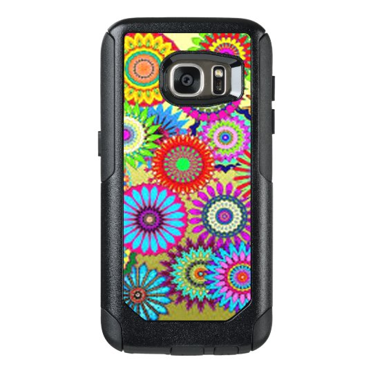 Colourful Circle Flowers OtterBox Samsung Galaxy S7 Case