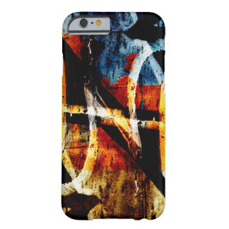 Colourful close up graffiti background barely there iPhone 6 case