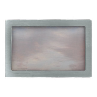 Colourful clouds belt buckle