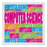 Colourful Computer Science Print
