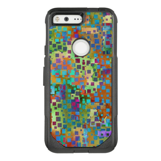 Colourful Confetti, Multicolored Abstract w OtterBox Commuter Google Pixel Case
