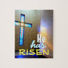 Colourful Cross Jigsaw Puzzle
