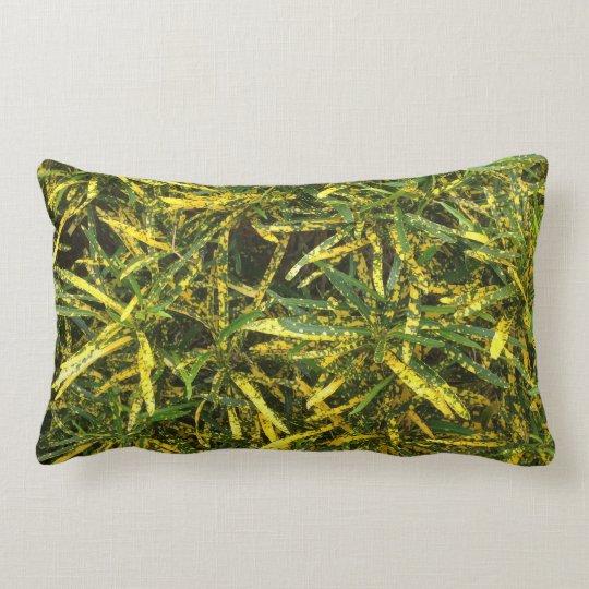 Colourful Croton double sided lumbar cushion