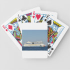 Colourful Cruise Ship Bicycle Playing Cards