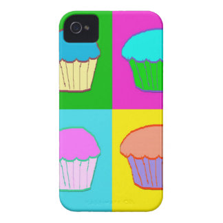 Colourful Cupcake Popart Case iPhone 4 Case-Mate Cases