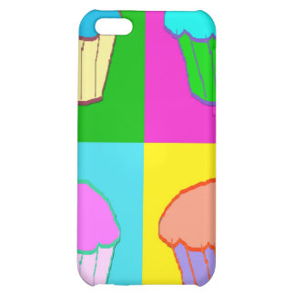 Colourful Cupcake Popart Case iPhone 5C Covers