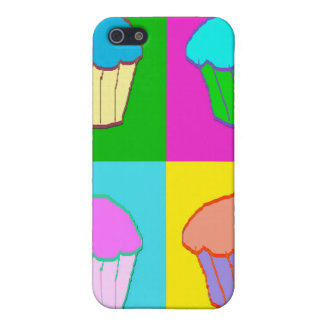 Colourful Cupcake Popart Case Cases For iPhone 5