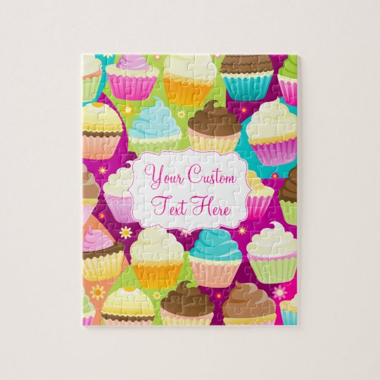 Colourful Cupcakes Jigsaw Puzzle