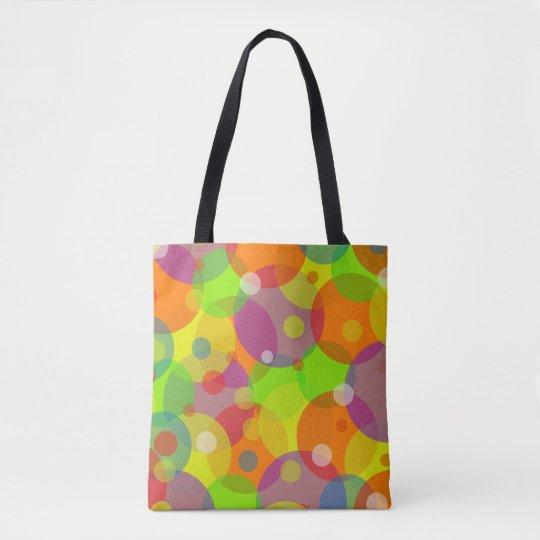 Colourful Custom All-Over-Print Tote Bag