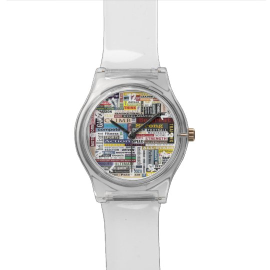 Colourful Customized Athletic Sports Watch
