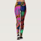 Colourful Designer Leggings