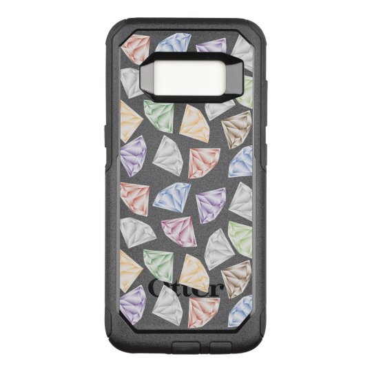 Colourful Diamonds for my sweetheart OtterBox Commuter Samsung Galaxy S8 Case
