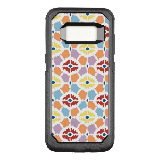 Colourful diamonds ikat geometric OtterBox commuter samsung galaxy s8 case