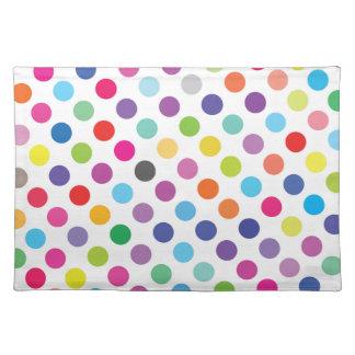 Colourful Dots - Kids Placemat