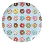 Colourful Doughnuts Plate