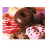Colourful Doughnuts Post Cards