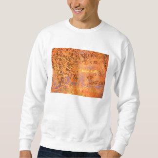 colourful drip design sweatshirt