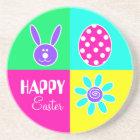 Colourful Easter Coaster