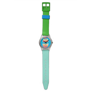 Colourful Easter egg watch