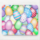 Colourful Easter Eggs Mouse Pad