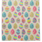 Colourful Easter eggs shower curtain