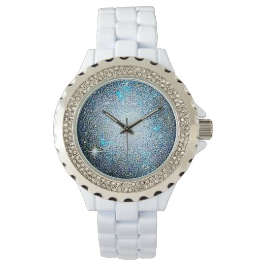 Colourful Exploring Space Rhinestone Watch