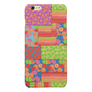 Colourful Faux Patchwork of Summer Fruits Patterns