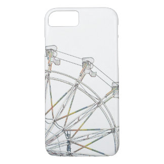 Colourful Ferris Wheel Barely There iPhone 7 Case