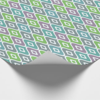 """Colourful Fish-Linen Wrapping Paper, 30"""" x 15' Wrapping Paper"""