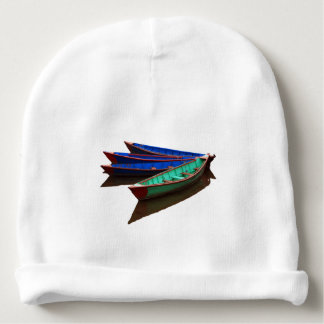 Colourful Fishing Boats Baby Beanie