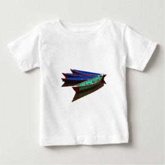 Colourful Fishing Boats Baby T-Shirt