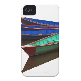 Colourful Fishing Boats Case-Mate iPhone 4 Case