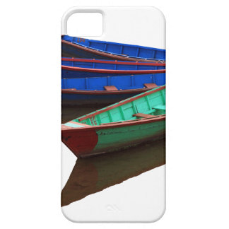 Colourful Fishing Boats iPhone 5 Case