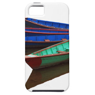 Colourful Fishing Boats iPhone 5 Cases