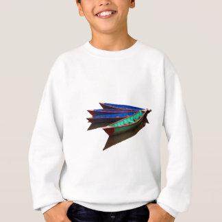 Colourful Fishing Boats Sweatshirt