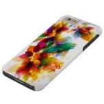 Colourful Floral Tough iPhone 6 Plus Case