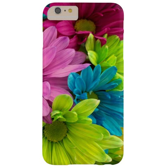 Colourful Flowers & Pattern Barely There iPhone 6 Plus Case