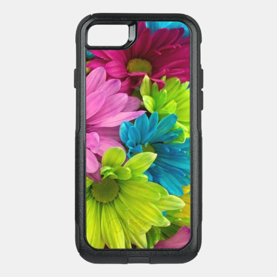 Colourful Flowers & Pattern OtterBox Commuter iPhone 8/7 Case