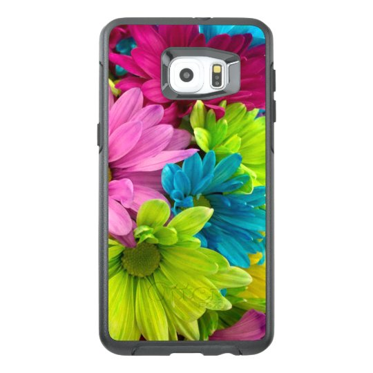 Colourful Flowers & Pattern OtterBox Samsung Galaxy S6 Edge Plus Case