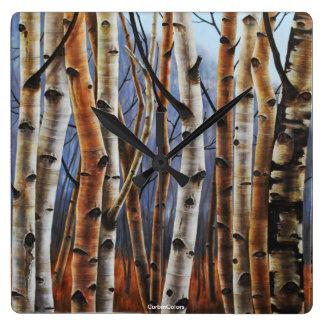 Colourful Forest Wallclocks