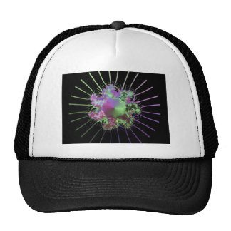 colourful-fractals mesh hats
