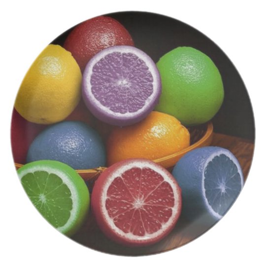 Colourful Fruit Plate