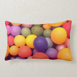 Colourful Fun Ball Pit Pattern Cushion