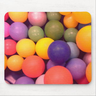 Colourful Fun Ball Pit Pattern Mouse Mat